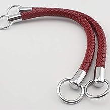 66f6158c1f 30,5 cm 30.5 cm borsa borsetta maniglie maniglia per manici uncinetto in  similpelle making