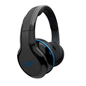 SMS Audio STREET By 50 Cent Over-Ear Wired Headphones - Black