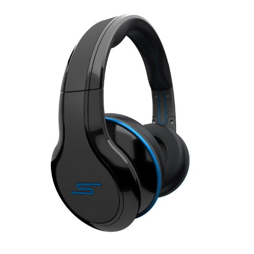 SMS Audio SMS-WD-BLK-5L STREET by 50 Wired Over-Ear Kopfhörer schwarz (Curtis Cd-player)
