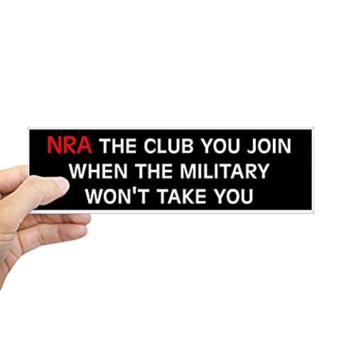 CafePress - Anti-Republican: NRA (Bumper) - 10