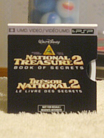 National Treasure 2PSP UMD Film