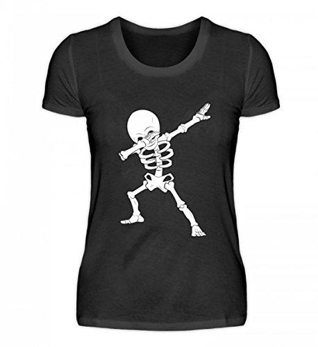 irt - Dabbing Skelett Hip-Hop Dab Tanzendes Gerippe Tanz Geschenk (Coole Männer Outfits Für Halloween)