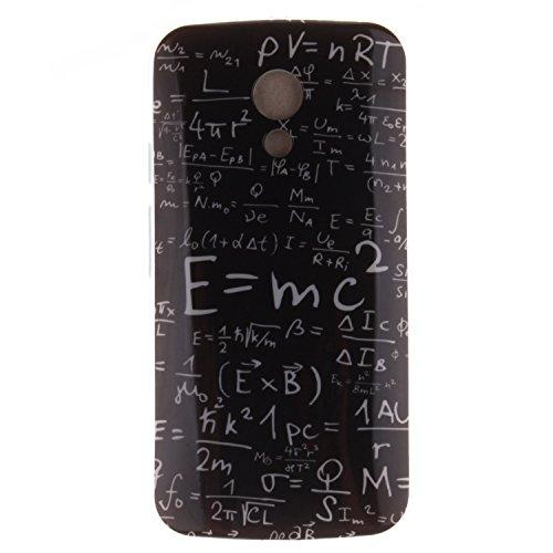 Guran® TPU Silikon Hülle für Motorola Moto G 2. Generation (5 Zoll) Smartphone Gemalt Schutzhülle Cover-Physikalische Formeln