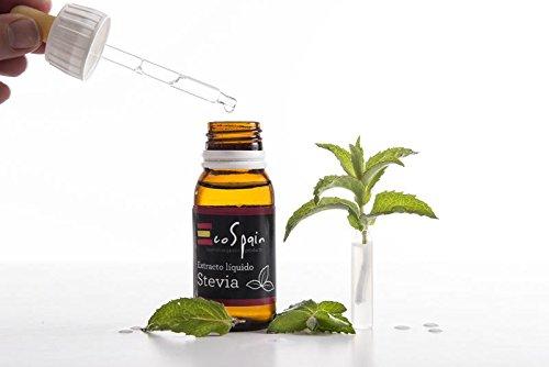 Extracto líquido stevia. Ideal endulzar café, infusiones