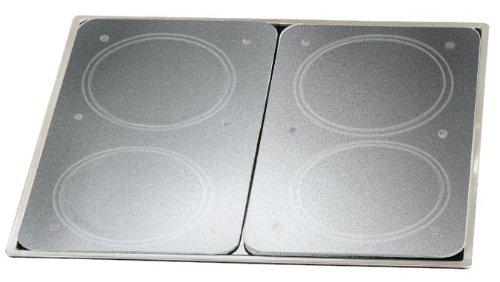 Wenko 271266310 Set 2 lastre di protezione universali per piani cottura in vetroceramica, elettrici e a gas