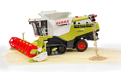 Image of Claas Lexion 780 Terra Trac Combine harvester - 02119