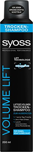 Syoss Trocken-Shampoo Volume Collagen & Lift, 3er Pack (3 x 200 ml)