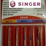5 Original Singer Nähmaschinen Nadeln Sortiment 2020 Stärke 80/11 90/14 100/16