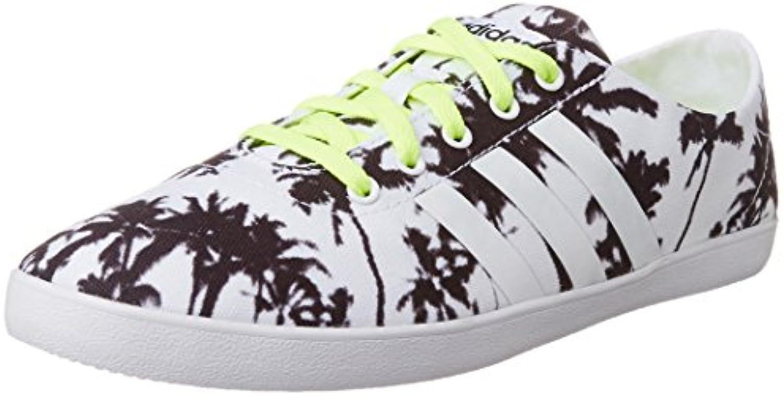 Adidas - VS QT Vulc W - F99464 - El Color: Verde-Blanco-Negro - Talla: 39.3