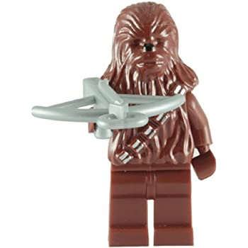 LEGO Star Wars: Chewbacca Minifigure with Bow Caster