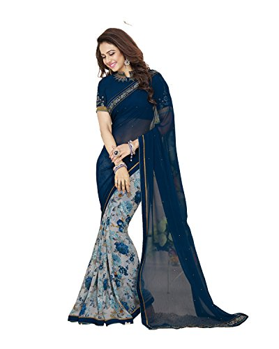 Sarees(Women\'s Clothing Sarees for women latest designer wear Sarees collection in latest Sarees with designer Blouse Piece free size beautiful bollywood Sarees for women party wear offer designer Sa