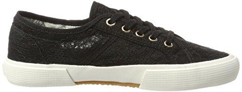 Brax Marcella Low Sneaker, Sneakers basses femme Schwarz (Nero)