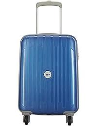 VIP Polypropylene 53 cms Blue Hardsided Cabin Luggage (Neolite)