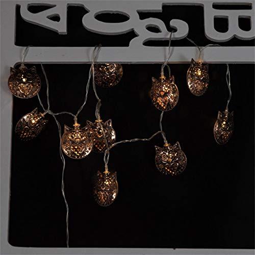 htfrgeds LED String Lights 1.65M 10LEDS Alambre a Prueba de Agua Luz...