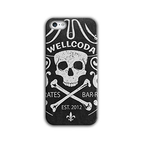 Pirat T Skelett Schädel Kostüm Hut iPhone 5 / 5S Hülle | (Fantasy Kostüme Piraten)