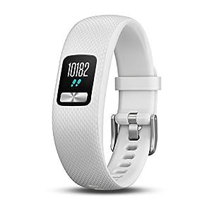 Garmin Vivofit 4 – Reloj Fitness Rastreador, Unisex, Blanco, S/M