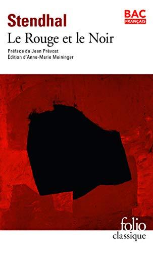 Le rouge et le noir (Folio Classique)