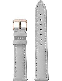 Cluse Damen Armbanduhr Zubehör Lederbänder Leder La Bohème Strap Grey/Rose Gold grau CLS019
