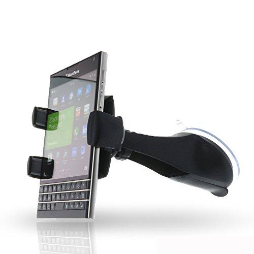 Smart-Planet® hochwertige Universal Autohalterung / KFZ Halterung für verschiedene Smartphones / Handys mit einer Breite von 6,4 bis 9,2 cm - z.B. Samsung Galaxy S8 S7 S6 Edge , Galaxy A3 A5