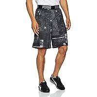 Puma Reversible Short Pantalón, Hombre, Negro White Black, M