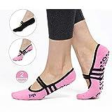 Best Yoga Socks - Grippy Non Slip Skid Women Yoga Socks – Review