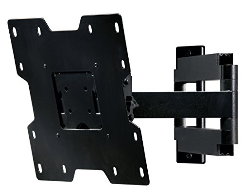 Peerless SA740P - PEERSA740P - Articulating wall mount for LCD screens with tilt pan and roll 22 - 40 max weight 36kg - Black