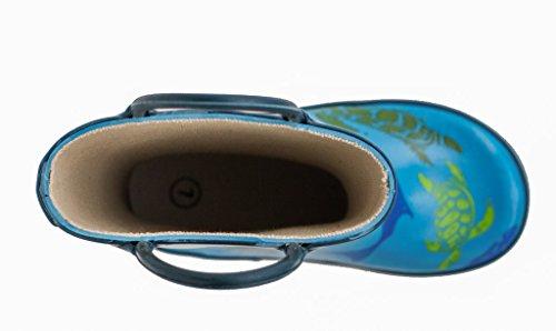 Oakiwear, Bottes pour Garçon Bleu