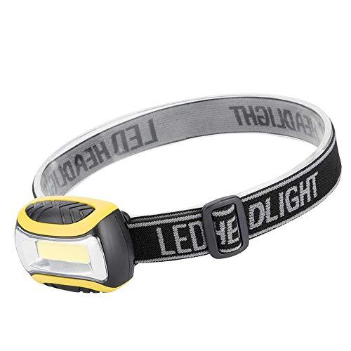 Lampada Frontale LED USB Ricaricabile Lampada Testa modalità, Torcia Frontale, I migliori fari per campeggio, escursionismo, jogging, corsa, pesca, bamb