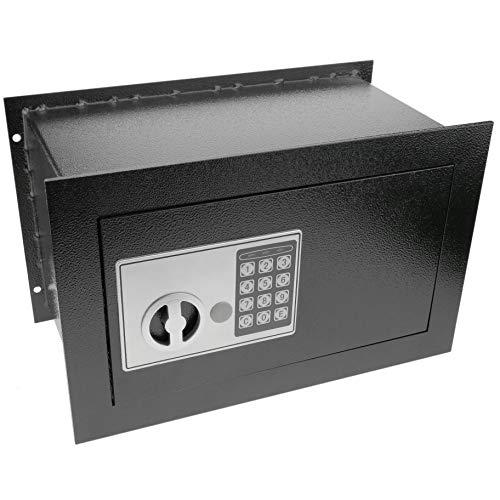 PrimeMatik - Caja Fuerte de Seguridad empotrada con código electrónico Digital 36x20x23cm...