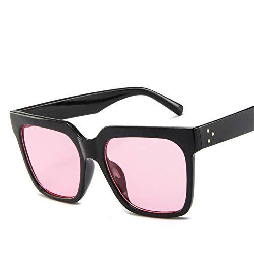SYQA Sonnenbrille Flat Top Sonnenbrillen Lady Eyewear Femme Frauen Luxury Brand Square Sonnenbrillen Frauen Rivet Sun Uv400,C9