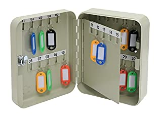 5 Star Facilities Key Cabinet Steel Lockable with Wall Fixings Holds 30 Keys W160xD80xH200mm (B000SHOTGQ) | Amazon price tracker / tracking, Amazon price history charts, Amazon price watches, Amazon price drop alerts