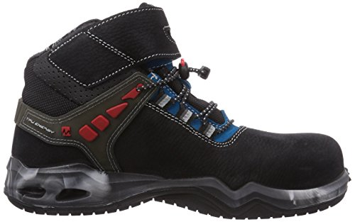 MTS Sicherheitsschuhe My Energy Lagon Energy S3 Flex 49906, Chaussures de sécurité mixte adulte Noir - Schwarz (schwarz/blau)