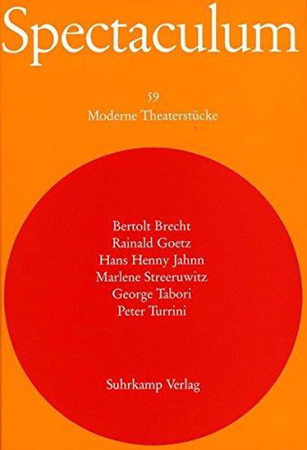 Spectaculum 59: Sechs moderne Theaterstücke und Materialien