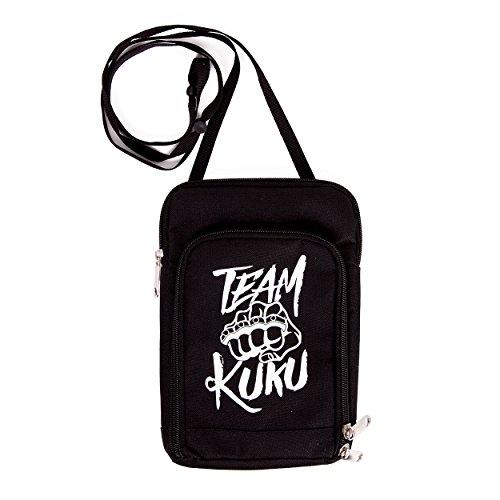Team KUKU Schultertasche Logo schwarz