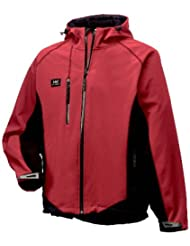 Sevilla chaqueta, unisex, color Dark Red/Black, tamaño L