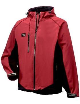 Sevilla chaqueta, unisex, color Dark Red/Black, tamaño L