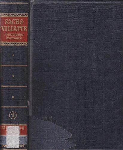 Relié - Dictionnaire encyclopédique français-allemand et allemand-français. première partie : français-allemand - enzyklopädisches französisch-deutsches und deutsch-französisches wörterbuch. erster teil : französisch-deutsch