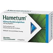 Hametum Hämorrhoidenzäpfchen 25 stk