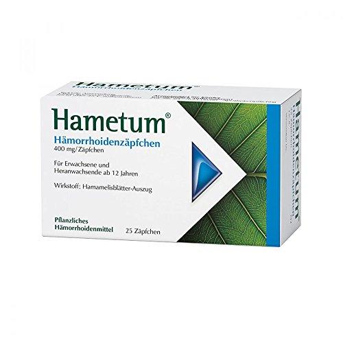 fakut Hametum Hämorrhoidenzäpfchen, 25 St. Zäpfchen
