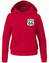 Route 66 Classic 66 Route For Ladies Womens Hoodies Sweatshirts Pullover Outlet