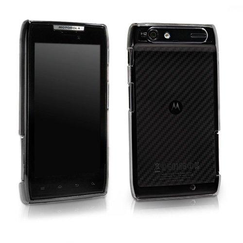 BoxWave Motorola Droid RAZR Crystal Shell-schmalem Ultra Leicht Transparent Polycarbonat klar hart Shell Case für Motorola Droid RAZR-Fällen und Abdeckungen (Smoke Grau) -