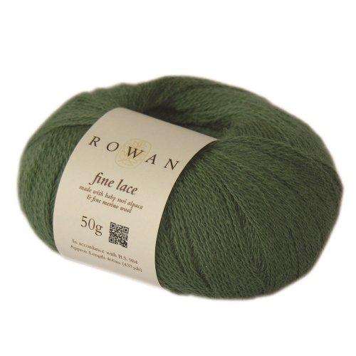 ROWAN Fine Lace - Farbe: Patina (00924) - 50 g / ca. 400 m Wolle