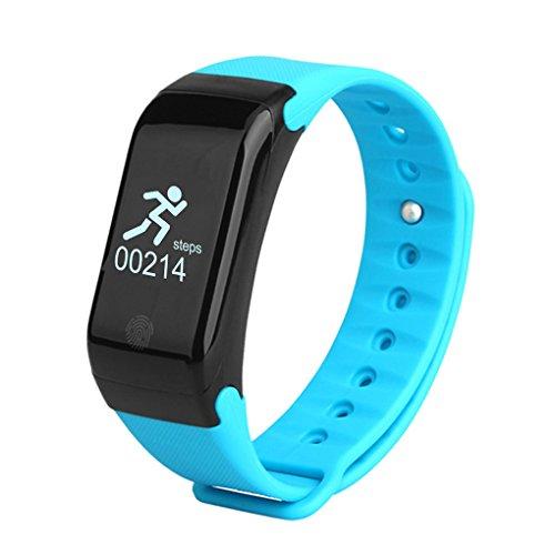 Lufa intelligente orologio con bluetooth 4.0 ip67 impermeabile attivita sala fitness tracker band con sleep salute monitor pedometro calorie step counter per android e ios