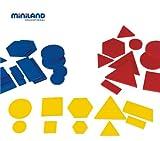 Miniland Miniland95044 - Bloques lógicos (60 Piezas)