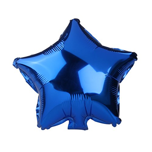 Luftballons Ballon Fünfzackigen Stern Folienballons Zufällige Farbe 8ST - 4