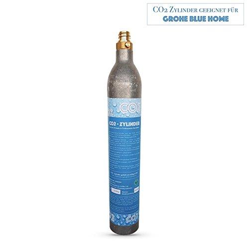 Neues Wasser Group SPRUDELUX® CO2 Zylinder CO2 Flasche geeignet für Trinkwassersystem GROHE Blue Home! Neu und mit CO2 gefüllt!