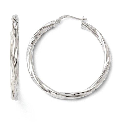 leslies-oro-bianco-10k-lucido-intrecciato-incernierato-orecchino-ad-anello-da-ukgems-10k-white-gold-
