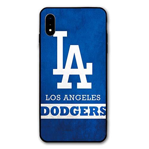 HiFee Schutzhülle für iPhone XR, Baseball-Design, schlankes und leichtes Design, Dodgers-Los, iPhone xr