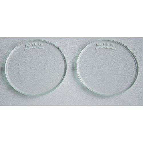Brillengläser Schutzgläser Brillenschutzgläser Ø 50mm rund splitterfrei VPE 1 Paar