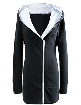 KaloryWee Abrigo de Mujer de Bolsillo - Abrigo para Mujer
